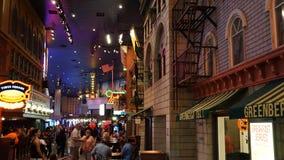 赌场酒店las新的维加斯约克 库存图片