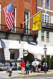 Las aclamaciones barran, Boston, mA imagen de archivo