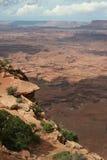 Las agujas pasan por alto Canyonlands Foto de archivo libre de regalías