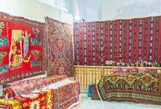 Las alfombras Foto de archivo