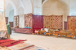 Las alfombras hechas a mano Fotos de archivo libres de regalías