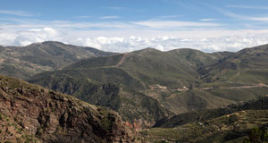 Las Alpujarras Mountains in Spain Royalty Free Stock Photography
