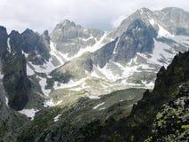 Las altas montañas de Tatras, Eslovaquia foto de archivo libre de regalías