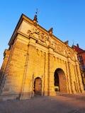 Las altiplanicies bloquean, Gdansk, Polonia Imagen de archivo libre de regalías
