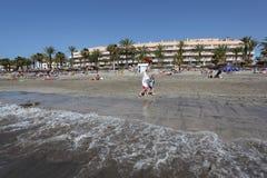 Las Américas, Tenerife de Playa de Foto de archivo