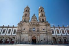 Las Amériques de la plaza De et église, Zapopan, Guadalajara, Mexique Images libres de droits