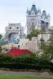 Las amapolas exhiben en la torre de Londres Imágenes de archivo libres de regalías