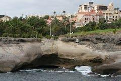 Las Americas. The sea view of Las Americas (Tenerife, Canary Islands, Spain Royalty Free Stock Photos