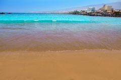 Las Americas Beach Adeje coast Beach in Tenerife Stock Photography