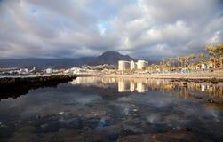 Las Americas de Playa de, Tenerife imagens de stock