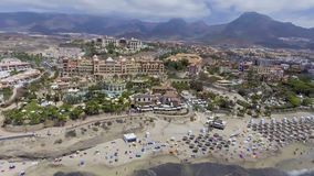 Las Americas strand, Tenerife - Spanien Royaltyfri Foto