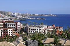 Las Amerika bei Tenerife Lizenzfreie Stockfotos
