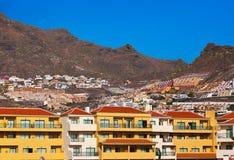 Las Amerika in der Tenerife-Insel - Kanarienvogel Stockfotografie
