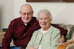 Las ancianos Imagen de archivo libre de regalías
