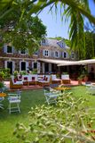 Las Antillas, el Caribe, Antigua, el astillero de Nelson, Inn del almirante Fotografía de archivo libre de regalías