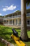 Las Antillas, el Caribe, Antigua, el astillero de Nelson, panadería, House de almirante y museo del astillero Imagenes de archivo