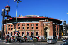 Las Arenas of Barcelona Royalty Free Stock Photography