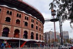 Las-Arenas, Barcelona, ehemaliger Stierkampfring jetzt ein Einkaufsm Stockfoto