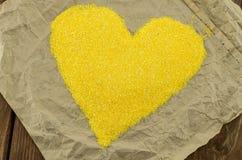 Las arenas de maíz Fotografía de archivo libre de regalías