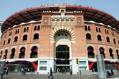 Las Arenas shopping mall, Barcelona, Spain Royalty Free Stock Photography