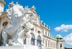 Las arquitecturas vienesas hermosas fotografía de archivo