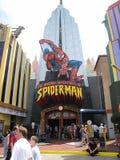 Las aventuras asombrosas de Spider-Man, estudios universales fotografía de archivo libre de regalías