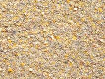 Las aves de corral del molino del grano para moler se mezclan fotografía de archivo libre de regalías