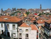 Las azoteas de Oporto Fotos de archivo