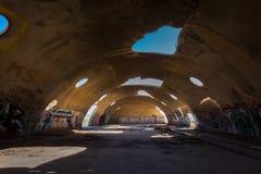 Las bóvedas en la casa grande Arizona Imágenes de archivo libres de regalías