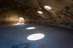 Las bóvedas en la casa grande Arizona Foto de archivo