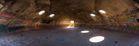 Las bóvedas en la casa grande Arizona Imagen de archivo