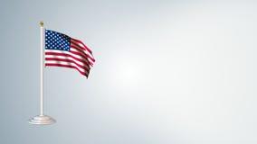 Las banderas del mundo colocan el paquete 3 en 1 con el fondo almacen de metraje de vídeo