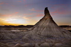 Las Bardenas Reales desert (Navarra,Spain) Stock Photos
