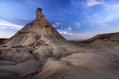 Las Bardenas Reales desert (Spain) Stock Photography