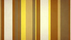 Las barras de colores multicoloras Paperlike de tierra de las rayas 4k 60fps texturizan el lazo video del fondo ilustración del vector