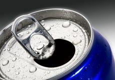 Las bebidas pueden Fotos de archivo