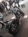 Las bicis de encargo muestran en la EXPO 2015 de la BICI del MOTOR de VERONA Italia Fotografía de archivo libre de regalías