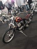 Las bicis de encargo muestran en la EXPO 2015 de la BICI del MOTOR de VERONA Italia Fotografía de archivo