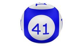 Las bolas de la loteria dan vuelta alrededor Equipo 2 en 1 representación 3d ilustración del vector