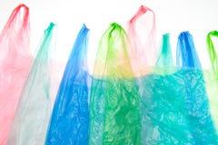 Las bolsas de plástico Fotografía de archivo libre de regalías