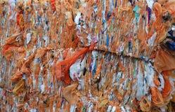 Las bolsas de plástico recicladas imagen de archivo libre de regalías
