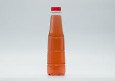Las botellas del diseño moderno de refresco, apenas añaden su propio texto Fotos de archivo libres de regalías