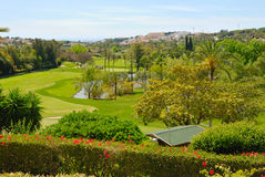 Las Brisas golf course Royalty Free Stock Photos