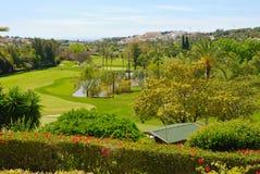 Las Brisas golf course Royalty Free Stock Photos