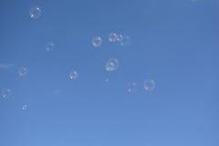 Las burbujas de jabón Fotografía de archivo libre de regalías