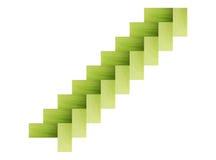 Las cáscaras de maíz aisladas Foto de archivo libre de regalías