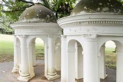 Las cúpulas en Singapur foto de archivo