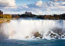 Las caídas americanas, una parte del Niagara Falls fotografía de archivo libre de regalías