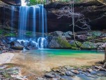 Las caídas hermosas de Sougahoagdee imagen de archivo libre de regalías