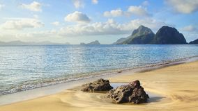 Las Cabanas beach. El Nido, Philippines Stock Photo